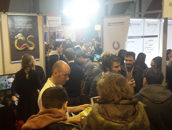 Retour sur le salon de l 39 tudiant creative seeds for Salon etudiant rennes